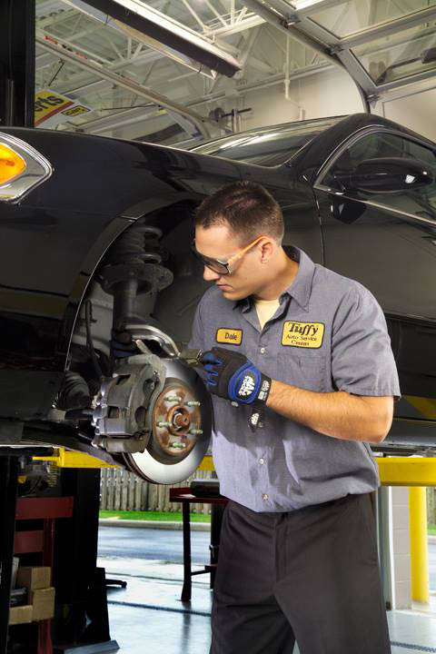 Brake service is dependable at Tuffy