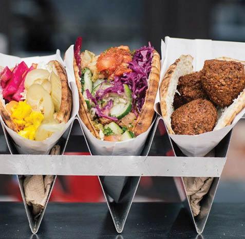Fine Mediterranean foods from Tut's Grill in LA