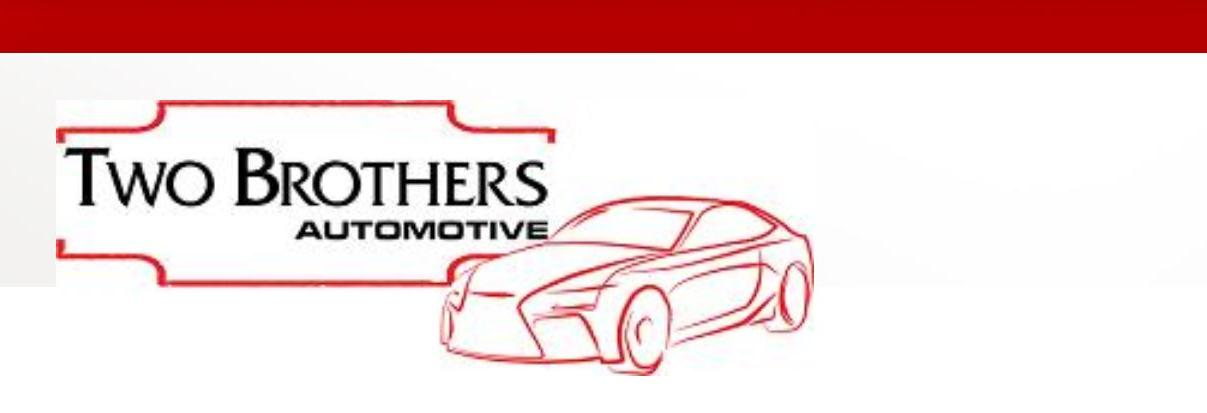 Two Brothers Automotive in Houston, TX Banner Ad