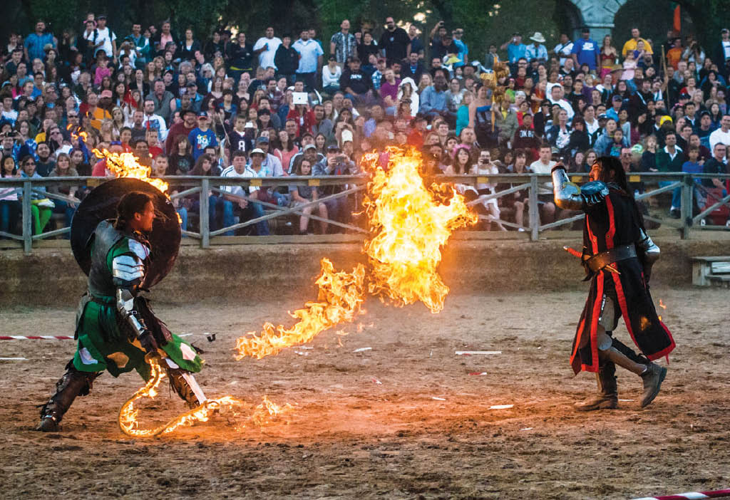 Fire up the gladiators at the Texas Renaissance Festival