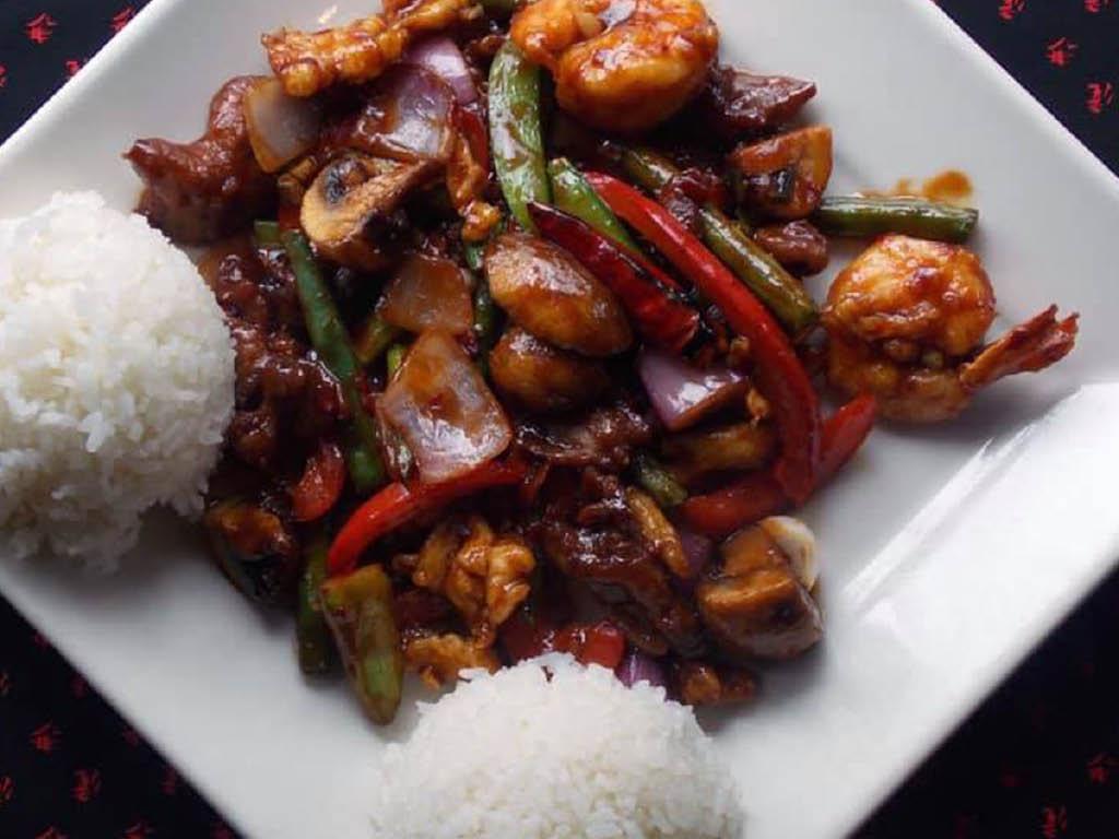 Typhoon Asian Fusion Bistro dish