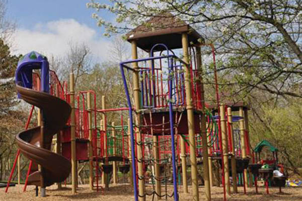City of Upper Arlington Parks and Recreation jungle gym