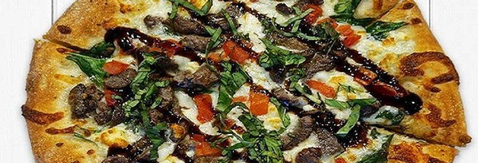 uncle maddios black and blue steak pizza picture