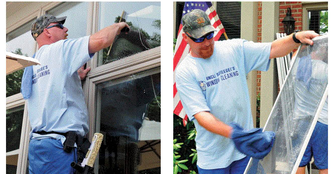 Clean windows & screens at Uncle Squeegee's Window Cleaning in Sterling Heights, MI
