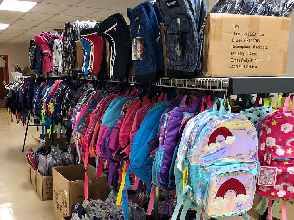 United Way of Fairfield County County bookbags