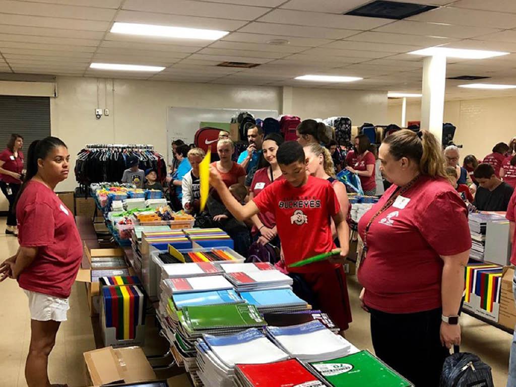 United Way of Fairfield County school supplies