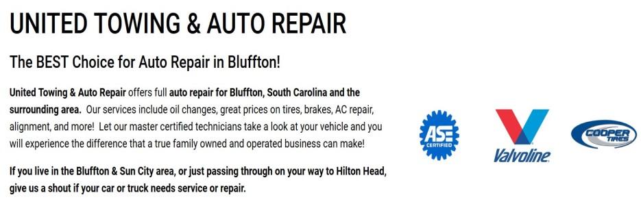United Tire & Auto Repair - Ridgeland, SC banner