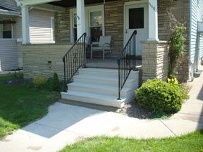 Unit Step Precast concrete steps