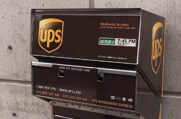UPS has convenient drop-off boxes throughout Smyrna and Atlanta