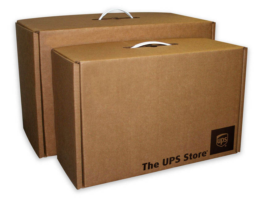 UPS boxes available in-store on Cumberland in Smyrna, GA