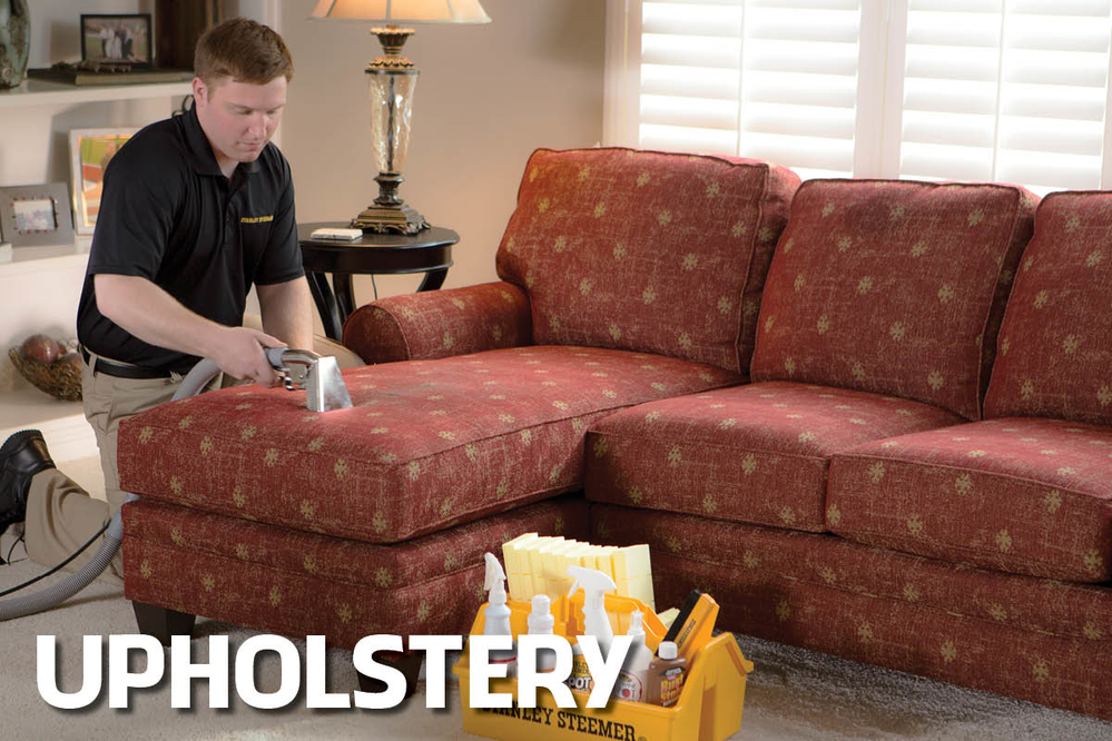 our powerful hot-water extraction upholstery cleaning process creates a cleaner, healthier environment while also protecting your investment.