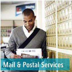 Mail, mailbox and postal services