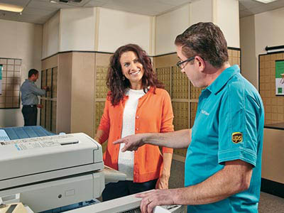 The UPS Store can send and receive faxes for you