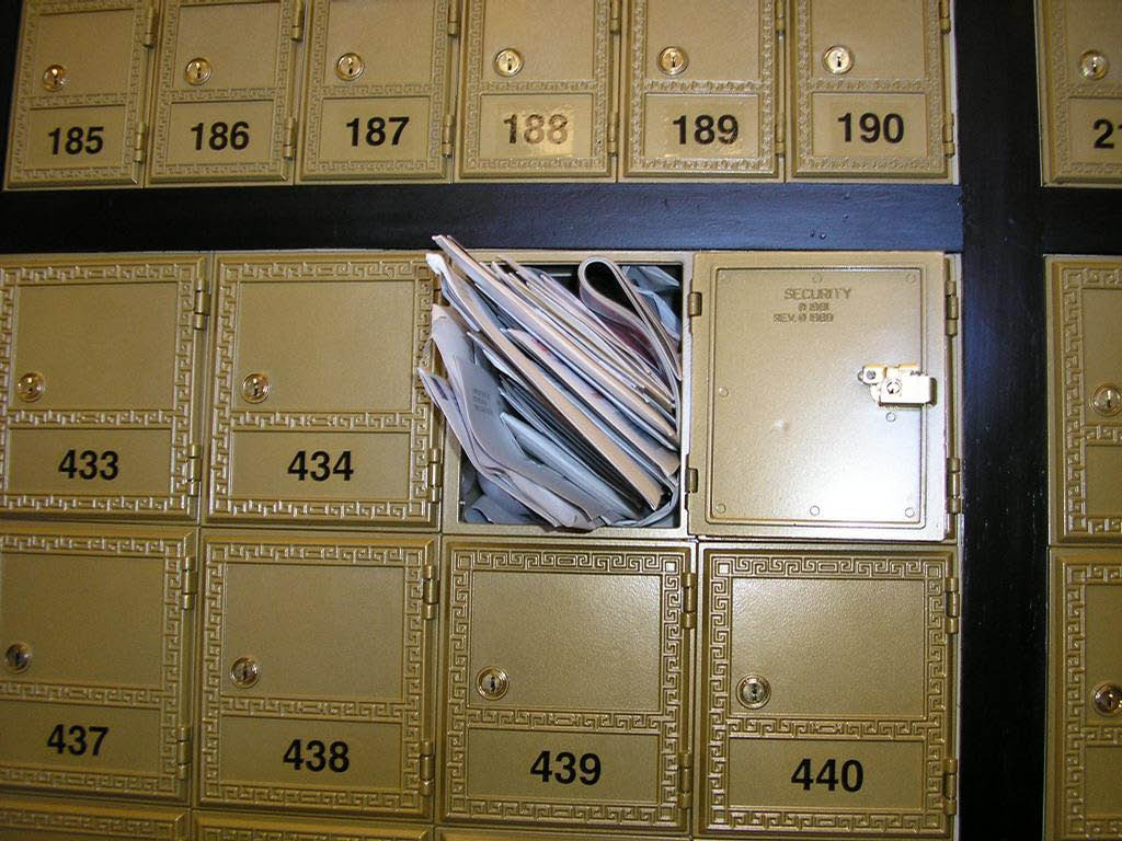 mailbox, postal address, street address