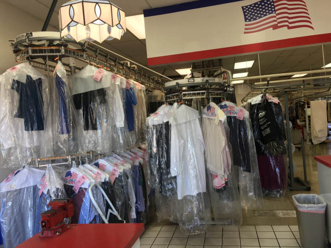 Dry cleaner in Granite Hills and El Cajon