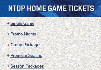 Ticket packages at USA Hockey in Plymouth