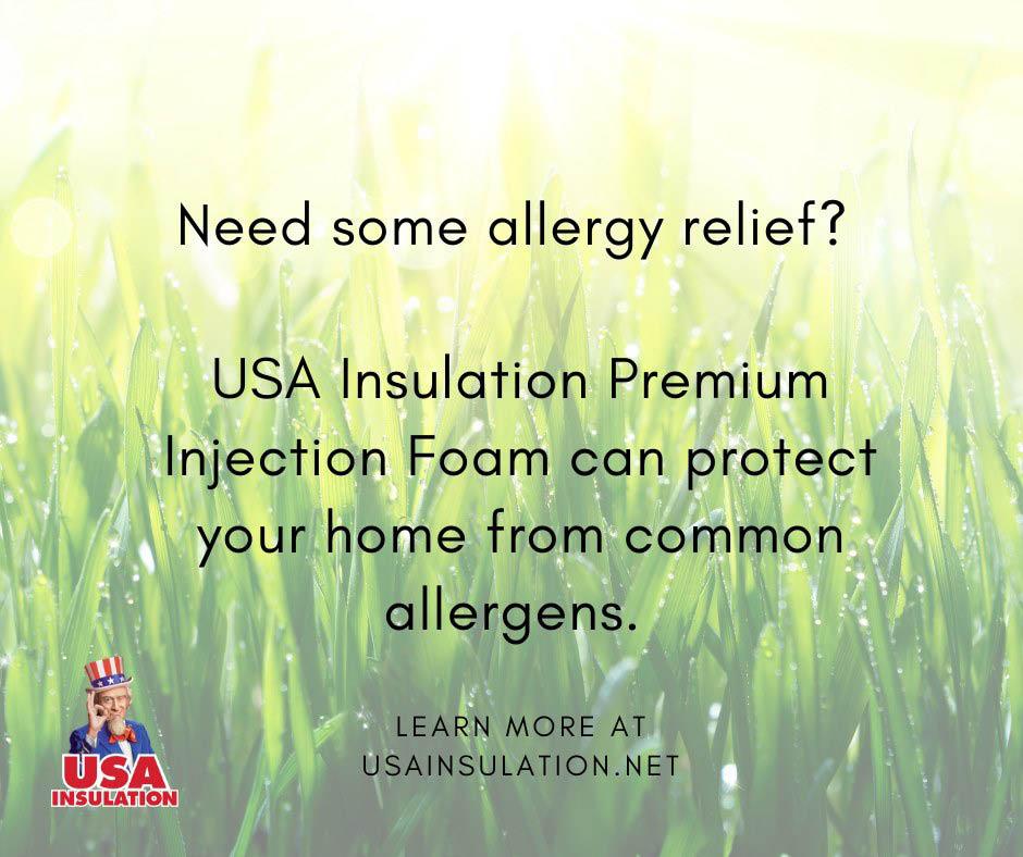 allergies relief energy savings