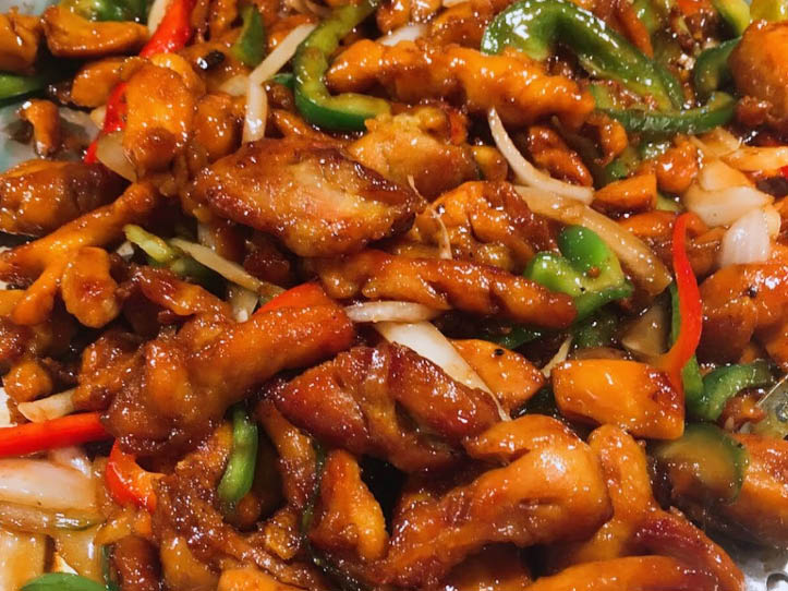 Hot Hibachi foods and Asian entrees