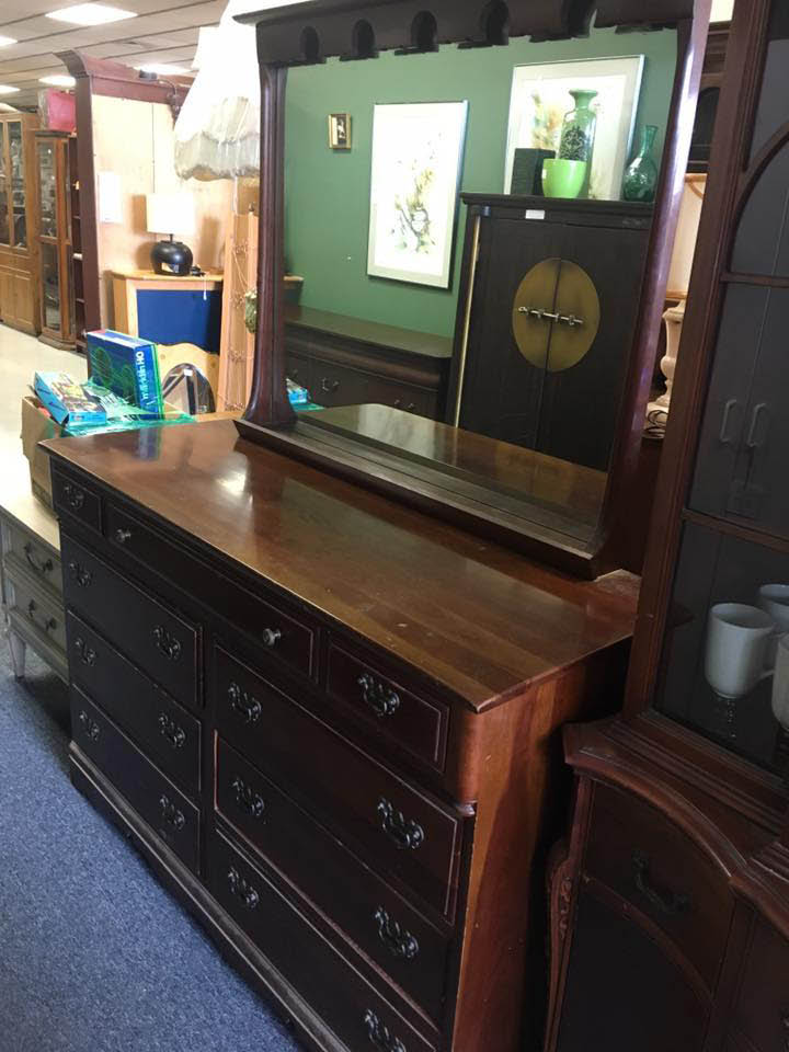 Used bedroom dresser at Sell It Again,Sam.