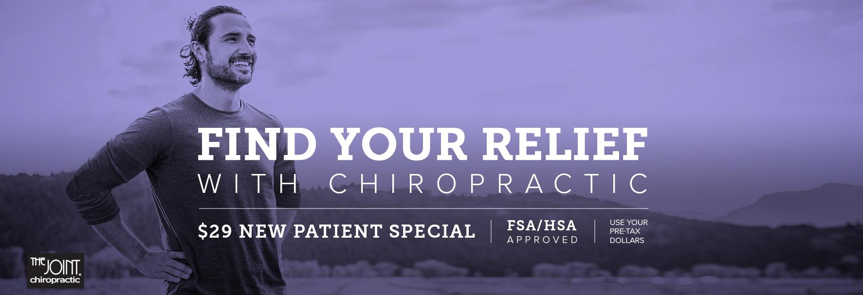 The Joint Chiropractic in Tucson, AZ banner