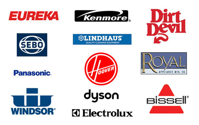 Brand name vacuum cleaner parts and service