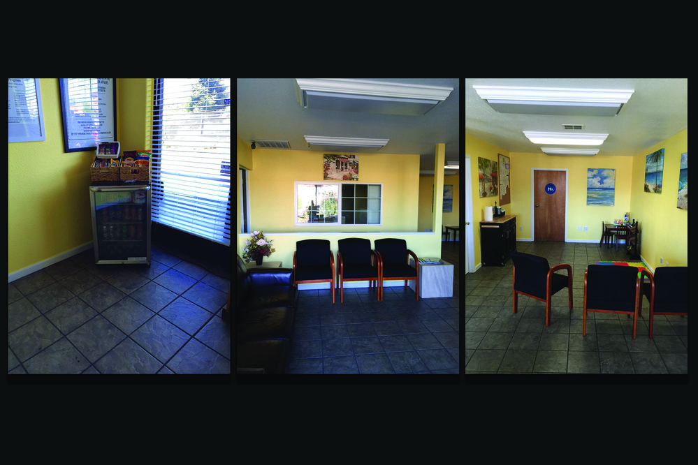 We have a state-of-the-art customer waiting area.