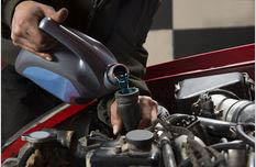oil changes; fluid top-off; automotive maintenance centers
