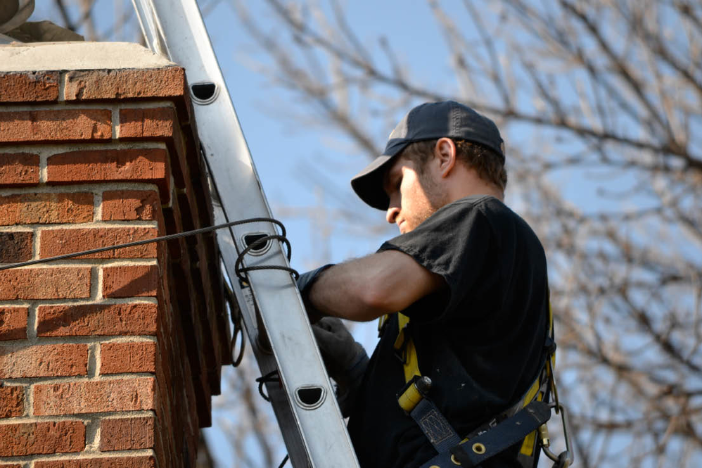 A cleaner chimney with professional chimney cleaning services