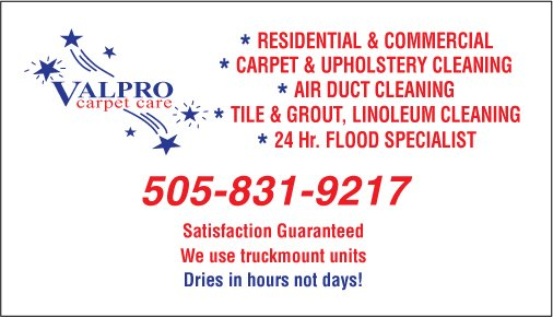 Carpet Cleaning by experienced and trusted neighbors. We service Albuquerque & Rio Rancho NM. Dries in hours not days!