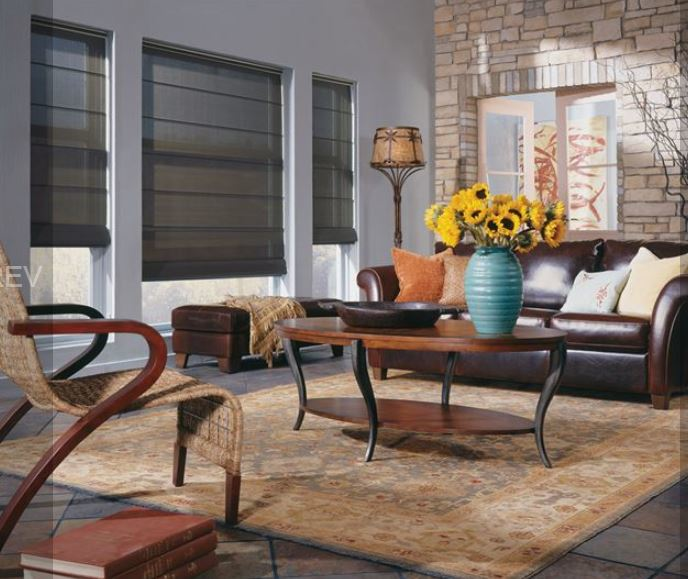 value blinds living room shades