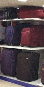 Picture of luggage at Value World