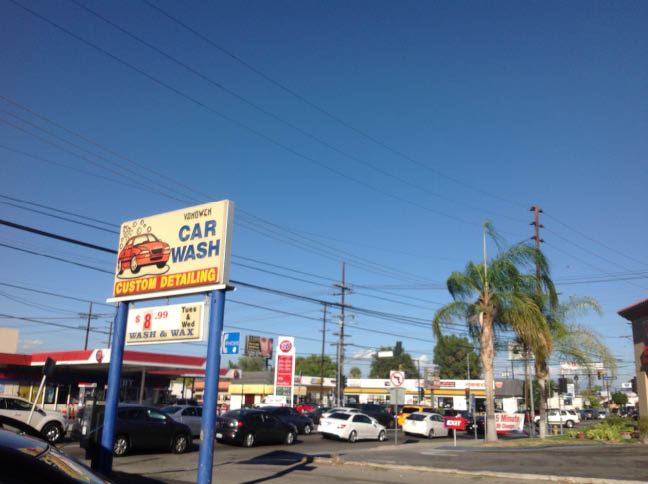 Vanowen Car Wash center in Reseda, CA