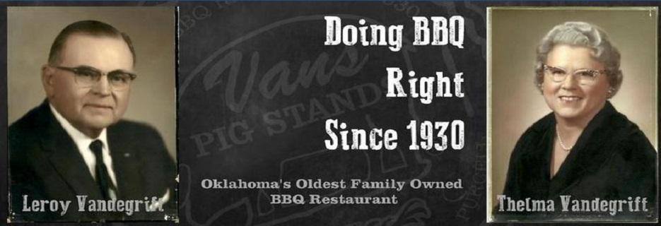 Van's Pig Stands in Norman, Oklahoma banner