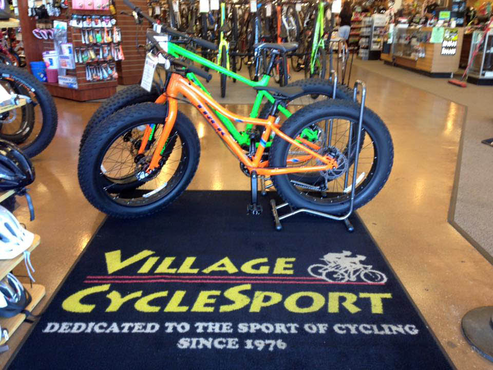 Village Cycle Sport has a wide selection of bicycles and accessories.