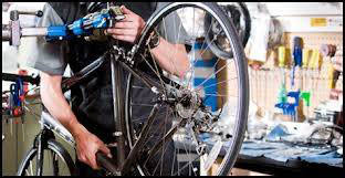 Visit Village Cycle Sport for bicycle repair and maintenance.