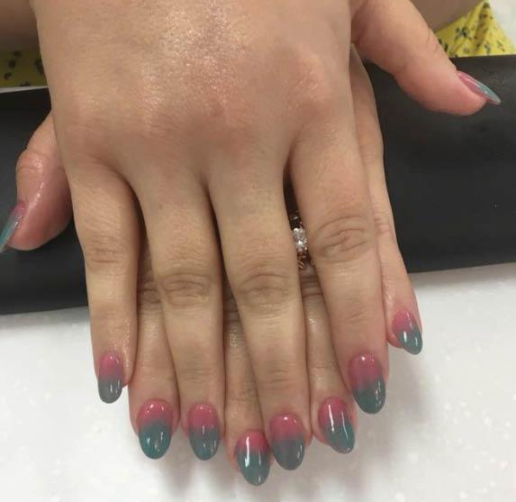 Verona Nail & Spa ombre nails