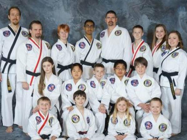 Village Taekwondo black belts