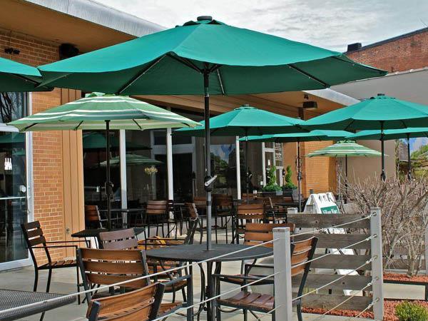 Village Wines and Bistro patio