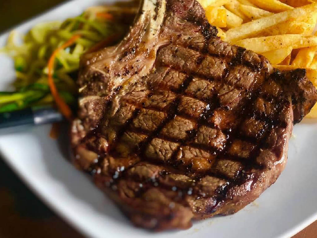 The Ville Grill steak