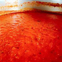 Vitos homemade sauce
