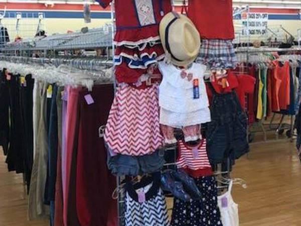 Volunteers of America clothing store