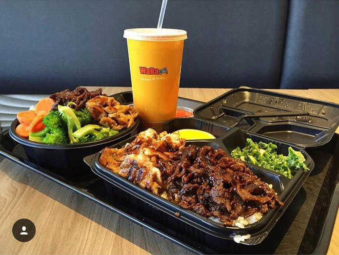Fresh, healthy, made to order lunches and dinners! Palm Springs WaBa Grill