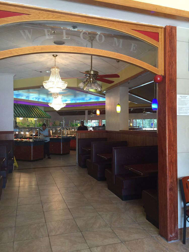Wanda Supper Buffet Chino CA inside dining room
