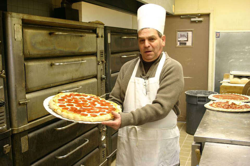 Another fresh pizza made by our chef at Wa-Pa-Ghetti's Pizza