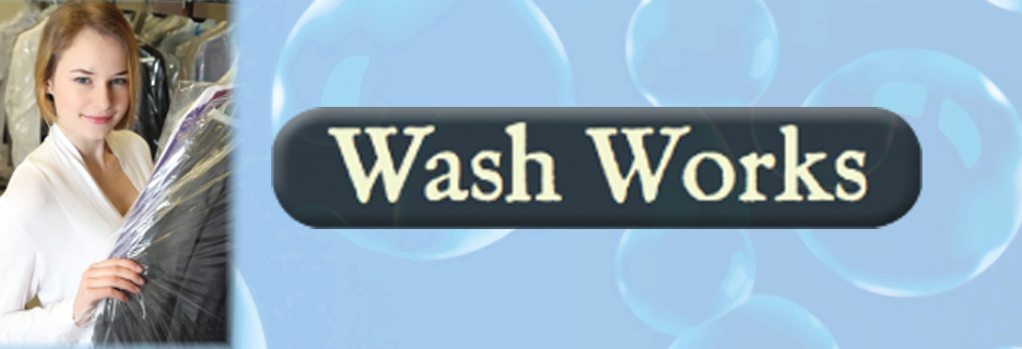 Wash Works laundromat and dry cleaners Stamford CT banner image