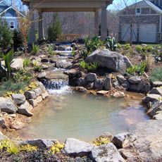 water features and ponds in Grimes, Iowa