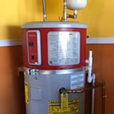 New water heater by Sierra Pacific Heating & Air-Rancho Cordova