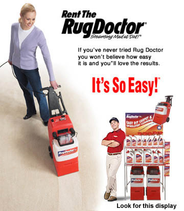 rug cleaner carpet shampooer rental