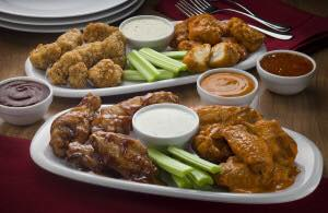 Tender chicken wings near Donegal Heights, PA