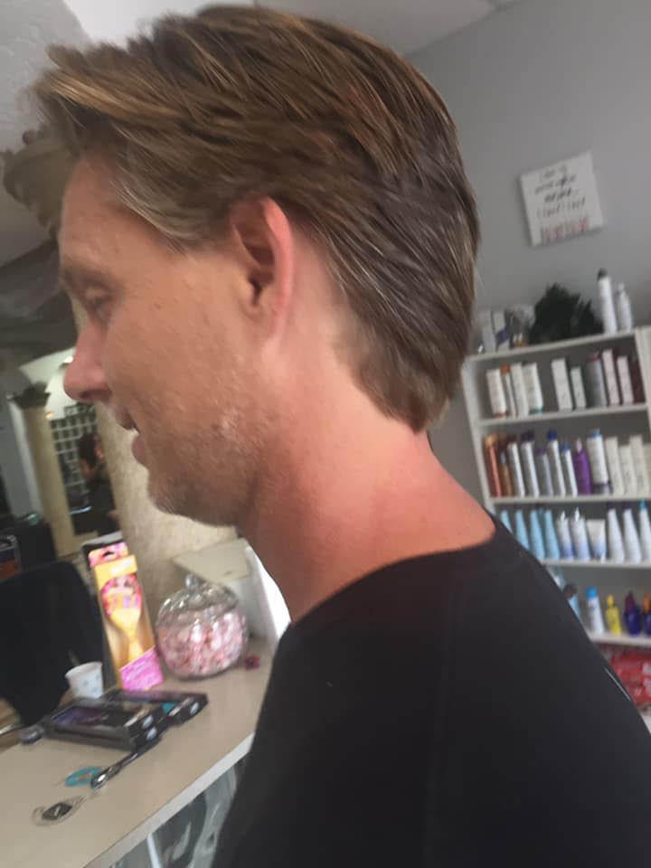 hair cut for men Waves Hair Design
